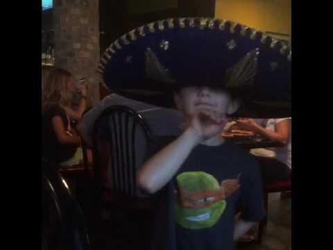 The big sombrero hat