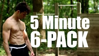 5 Minute Bar Workout | Complete Core | 6-Pack Abs by Onlykinds Fitness [5 Minute Workouts]