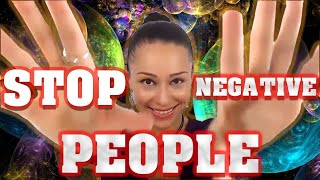 How to Stop Negative People Disrupting Your Peace