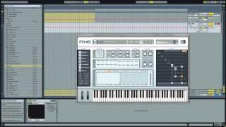 Ableton Live - Create A Skrillex Growl Bass Sound Using FM8 - With Dan Larsson