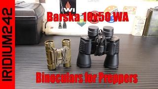 Binoculars For Preppers: Barska 10x50 Binoculars