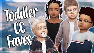 Toddler CC Faves + Full CC List (THANK YOU FOR 18K 💕)