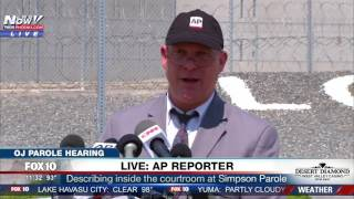 WATCH: AP Reporter Holds Press Conference After OJ Simpson Parole Hearing (FNN)