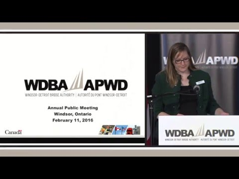 WDBA 2014-2015 Annual Public Meeting