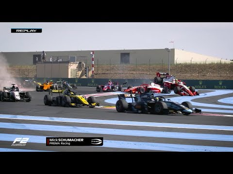 Formula 2 Feature Race Highlights | 2019 French Grand Prix