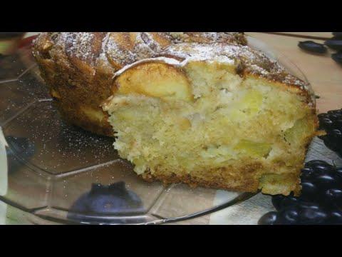 яблочный пирог сочная шарлотка с карамельной корочкой рецеп/Apple pieт  #ДомовитаяХозяйка