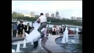 Подборка лучших падений жениха и невесты