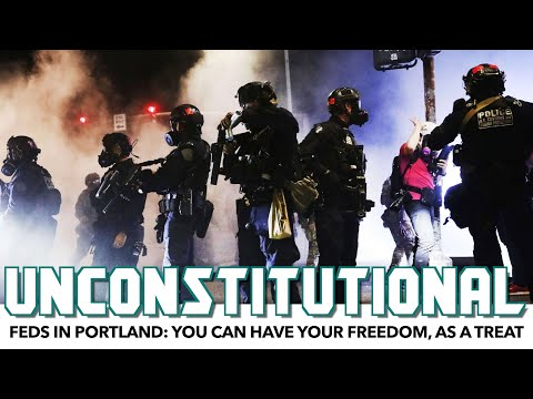 Feds In Portland: You Can Have Your Freedom, As A Treat