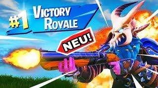 Sieg mit neue Waffe| Sezoro Fortnite Battle Royale