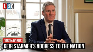 Keir Starmer's address to the nation on the new coronavirus restrictions | LBC
