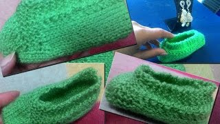 Socks For Every One with two needles (जुराब दो सिलाइयों  से )