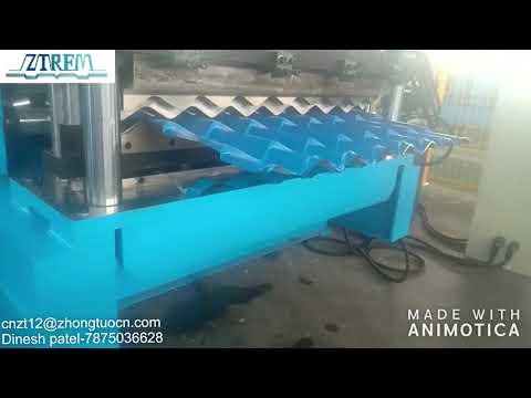Metal steel roof profile forming machine