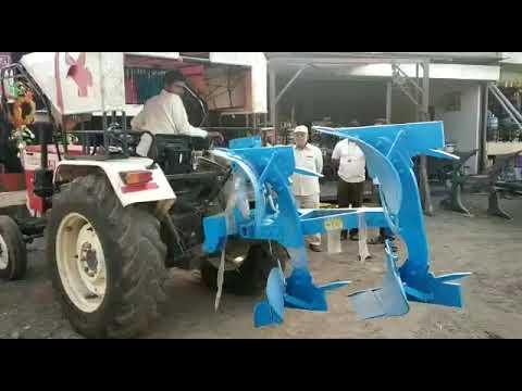 500 Kg Heavy Duty 2 Bottom Hydraulic Reversible M.B. Plough