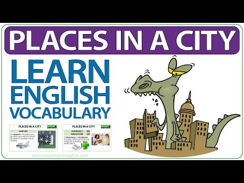 Places in a City - Learn English Vocabulary