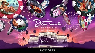 GTA Online: The Diamond Casino & Resort is Now Open! (with Trailer)