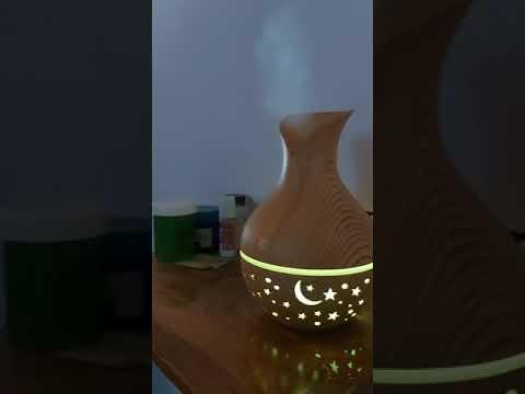 Humidificadores Aromaterapia Lámpara De Luna