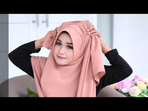 """Video Tutorial hijab """"DRAVIA"""" by Flow Idea Hijab"""