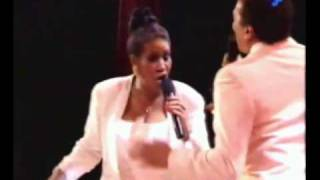 Aretha Franklin Live  TWO LEGENDS, ONE STAGE, what more could you ask for.........