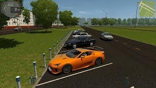 (570 HP) Lexus LF-A Nurburgring Edition - City Car Driving