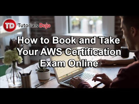 How to Book and Take Your AWS Certification Exam Online - YouTube