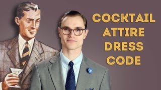 Cocktail Attire Dress Code Explained