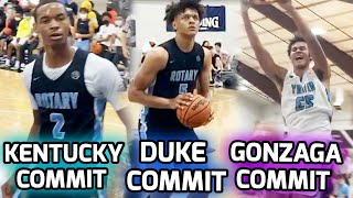 Seattle Rotary Might Be The BEST AAU TEAM! Three High D1 Commits & The #1 RANKED Football Recruit 🔥
