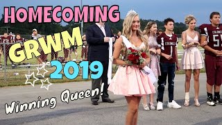 Homecoming GRWM 2019 + VLOG   I Was Crowned Queen   Ella