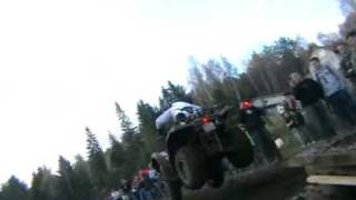 preview picture of video 'Rajd Country Cross Sidzina 2008 ATV'