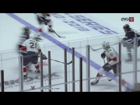 Brendan Lemieux vs. MacKenzie Weegar
