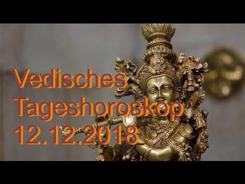 Vedisches Tageshoroskop: 12.12.2018 (Mittwoch)