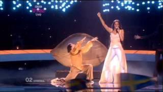 *Eurovision 2010* *Semi Final 2* *02 Armenia* *Eva Rivas* *Apricot Stone* 16:9 HQ