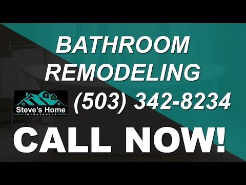 Bathroom remodel portland oregon remodeling contractors for Bathroom remodeling portland or