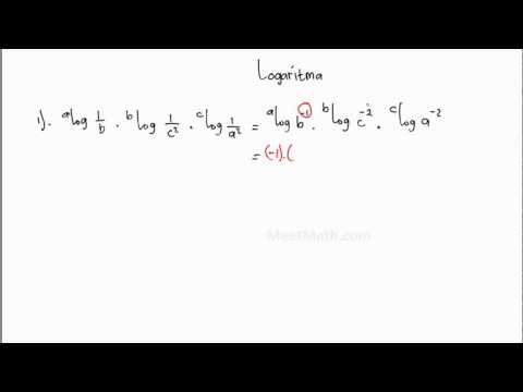 Logaritma - Contoh 1