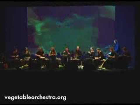 תזמורת של ירקות - לא יאומן!