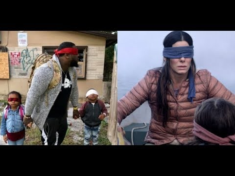 IN THE LAND OF THE BLIND WE HAVE THE BIRD BOX CHALLENGE!