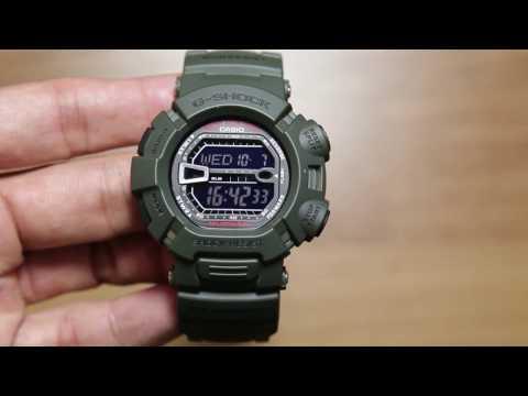 0c876cd9a6d relógio casio g-shock mudman g9000-3v verde novo e original. Carregando  zoom.