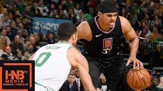 Boston Celtics Vs LA Clippers Full Game Highlights / Feb 14 / 2017-18 NBA Season