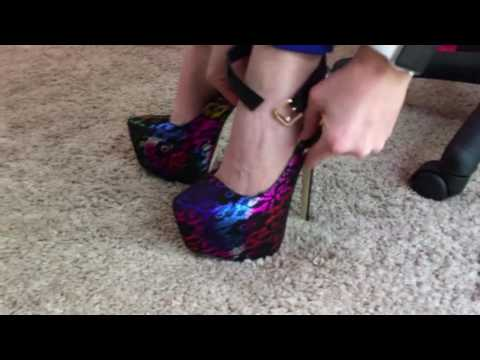 Unboxing/Review of Danae from ShoeDazzle – 6.5 inches