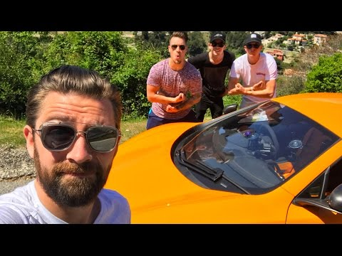 Supercars vs Spotters From My McLaren 675LT
