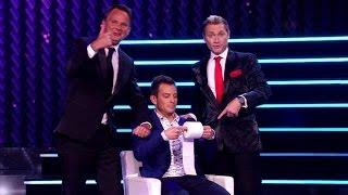 Peter & Ronald nemen Dan Karaty in de maling - HOLLAND'S GOT TALENT