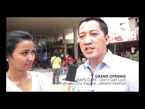 Video MAPS CAFE - Grand Opening (Kalibata City Square)