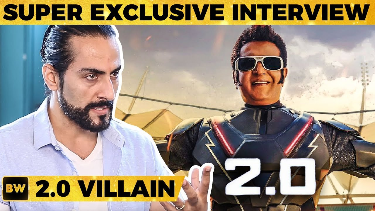 2.0 Stadium FIGHT SCENE: Rajini Sir did the IMPOSSIBLE - Sudhanshu Pandey Reveals! | Shankar