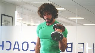 Full Body Fat Burner and Dumbbell Workout | 18 Minutes | The Body Coach by The Body Coach TV