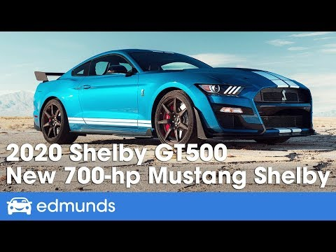 2020 Ford Mustang Shelby Gt500 First Look And Details Edmunds By