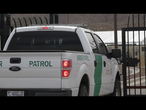 The U.S. government is opening two new facilities that could start taking immigrants Thursday. The facilities in El Paso, Texas and the Rio Grande Valley offer bathrooms, recreation areas and sleeping quarters. (May 3)