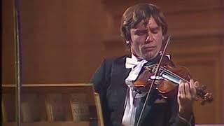 Viktor Tretyakov - Brahms Scherzo & Beethoven Violin Sonata no. 7 - video 1980
