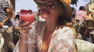 Lady Kitty Spencer is troll on Instagram 'TOO FAT' in her bikini Shared sun soaked snaps