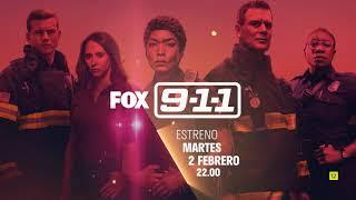 Fox 9-1-1 T4 - nueva temporada, estreno 2 FEBRERO 22.00 anuncio