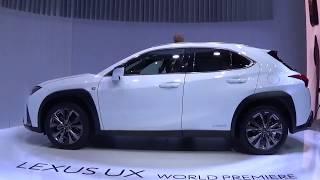 Genève 2018 – Lexus UX hybride