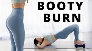 Booty Burn Workout - 15 Min   Get Peachyyy 👀